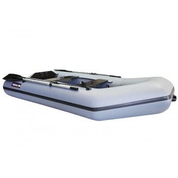 Лодка надувная Хантер 320 Л цв Серый D41, 32кг, 8л.с