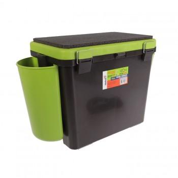 Ящик зимний Helios FishBox  односекционный 19л.зеленый