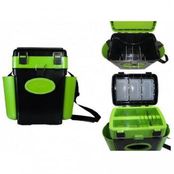 Ящик зимний Helios FishBox 10л.зеленый