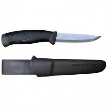 Нож Morakniv Companion Anthracite, нерж.