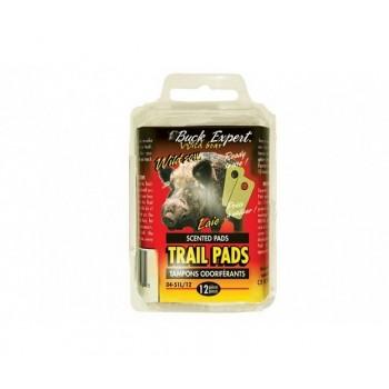 Приманка для кабана, гель 50 г запах самка (пластинки)