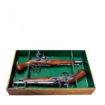 Пистоли дуэльные 18 век пара.