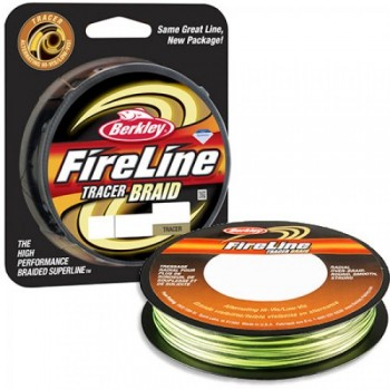 Плетёный шнур Fire Line Tracer Braid 110м 0.45мм