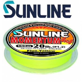 Плетёный шнур Sunline Momentum4*4 150m 0.8 5.6кг