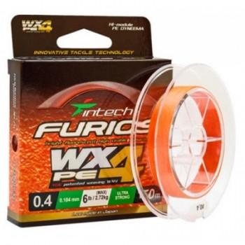 Плетёный шнур  INTECH FURIOS PE WX4 150м 0,5 (0,117мм) 3,63кг