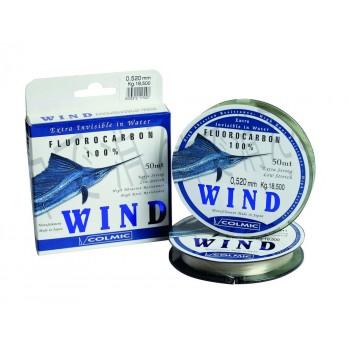 Леска Colmic Wind Fluorocarbon 50м 0,409мм 12,5кг
