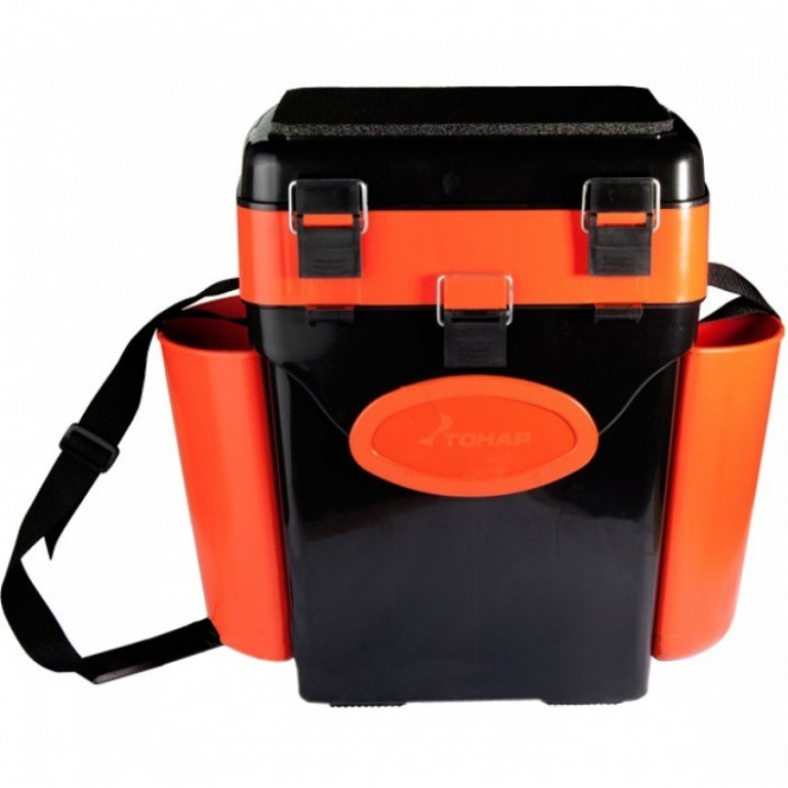 Ящик зимний Helios FishBox 10л.оранж.
