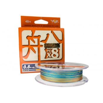 Плетёный шнур Veragass PE8 150m 0,6 14lb