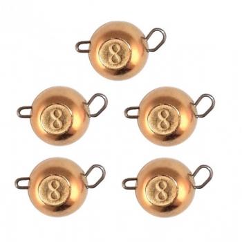 Груз чебурашка вольфрам FF 1.0гр. (1шт) Copper