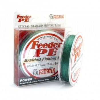 Плетёный шнур Fanatik Feeder PE X4 140м 0.23мм.Green