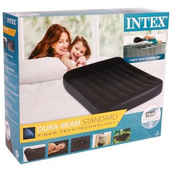 Надувная кровать №64142 (137*191*25) 108-034